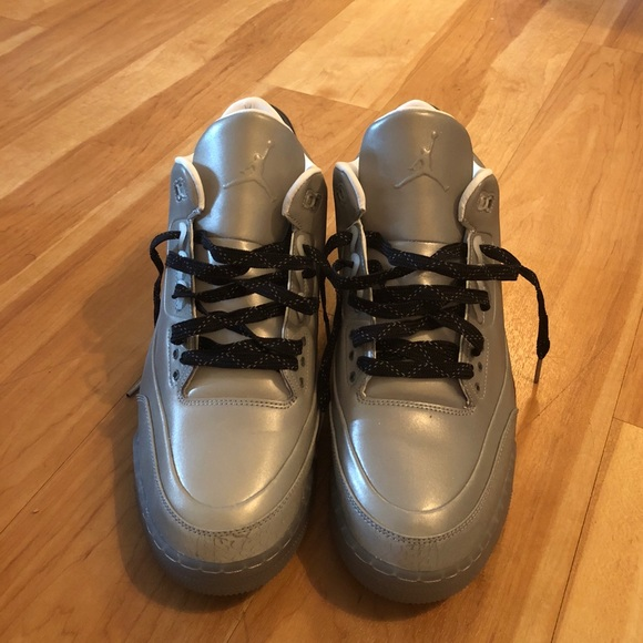227b937acc39 Jordan Other - Air Jordan Retro 3 5Lab3 Silver